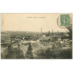 carte postale ancienne 54 AUBOUE. Usines 1924