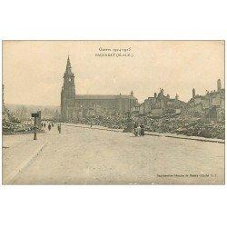 carte postale ancienne 54 BACCARAT. Guerre 1914-15 Femmes landau