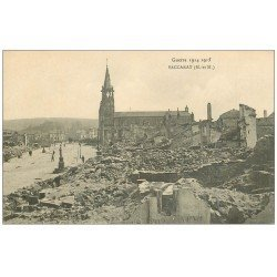 carte postale ancienne 54 BACCARAT. Guerre 1914-15 Ruines