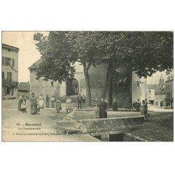 carte postale ancienne 54 BACCARAT. La Gendarmerie