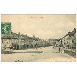 carte postale ancienne 54 BACCARAT. Rue des Ponts