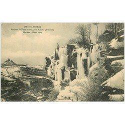 carte postale ancienne 12 AUBRAC. Rochers de Verminières 1910