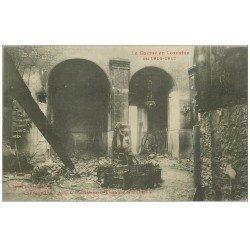 carte postale ancienne 54 GERBEVILLER. Chapelle 1918