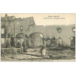 carte postale ancienne 54 GERBEVILLER. Faubourg de Moyen