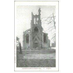 carte postale ancienne 54 GERBEVILLER-LA-MARTYRE. 1914 Eglise