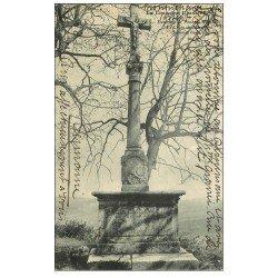 carte postale ancienne 54 LA CROIX DE MOUSSON 1907