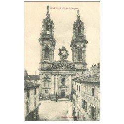 carte postale ancienne 54 LUNEVILLE. Eglise Saint-Jacques