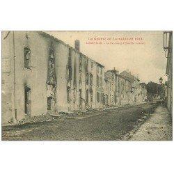 carte postale ancienne 54 LUNEVILLE. Faubourg d'Einville