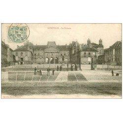 carte postale ancienne 54 LUNEVILLE. Le Château 1905