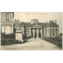 carte postale ancienne 54 LUNEVILLE. Le Château Cycliste