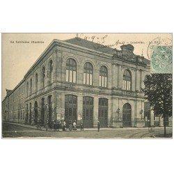 carte postale ancienne 54 LUNEVILLE. Les Halles