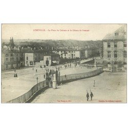 carte postale ancienne 54 LUNEVILLE. Place Château Coteau Frescati 1916