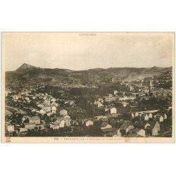 carte postale ancienne 12 DECAZEVILLE. Vue sur le Nord-Ouest