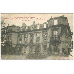 carte postale ancienne 54 LUNEVILLE. Sous-Préfecture 1916