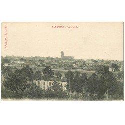 carte postale ancienne 54 LUNEVILLE. Vue générale 1919