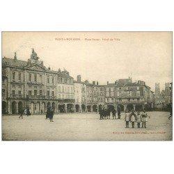 carte postale ancienne 54 PONT-A-MOUSSON. Hôtel de Ville Place Duroc