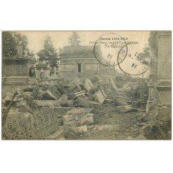 carte postale ancienne 54 PONT-A-MOUSSON. Le Cimetière 1921
