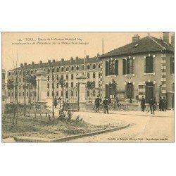 carte postale ancienne 54 TOUL. Caserne Maréchal Ney Plateau Saint-Georges 1914