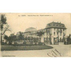 carte postale ancienne 54 NANCY. Ecole des Beaux Arts Hôpital Auxilliaire 1914