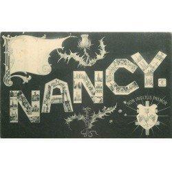 carte postale ancienne 54 NANCY. Fantaisie. Non inultus premor 1905