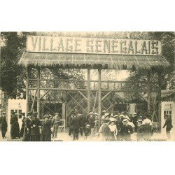 carte postale ancienne 54 NANCY. Exposition Village Sénégalais
