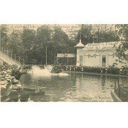 carte postale ancienne 54 NANCY. Exposition le Water-Chute jeu de Fête Forraine 1910