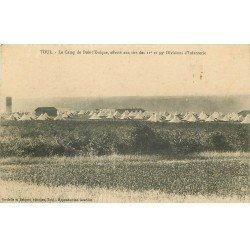 carte postale ancienne 54 TOUL. Camp de Bois l'Evêque 11 et 39° Divisions Infanterie