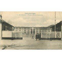carte postale ancienne 54 TOUL. 160° Infanterie Entrée et Nouveau Casernement