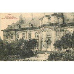 carte postale ancienne 54 TOUL. Hôtel de Ville du Jardin
