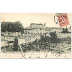 carte postale ancienne 55 BAR-LE-DUC. Château des Ducs Rue Gilles-de-trèves 1905