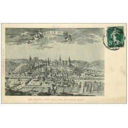 carte postale ancienne 55 BAR-LE-DUC. D'après une estampe1909