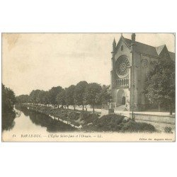 carte postale ancienne 55 BAR-LE-DUC. Eglise Saint-Jean 1914