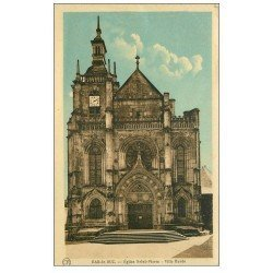 carte postale ancienne 55 BAR-LE-DUC. Eglise Saint-Pierre 1934