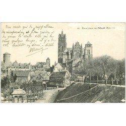 carte postale ancienne 12 RODEZ. La Cathédrale