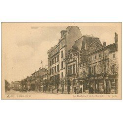 carte postale ancienne 55 BAR-LE-DUC. La Poste Boulevard de la Rochelle 1916