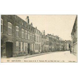 carte postale ancienne 55 BAR-LE-DUC. Maison Poincaré Rue Néve
