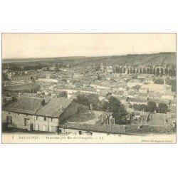 carte postale ancienne 55 BAR-LE-DUC. Panorama Rue des Grangettes 1914