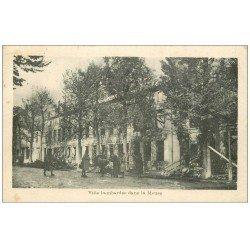 carte postale ancienne 55 BAR-LE-DUC. Ville bombardée dans la Meuse 1918