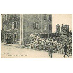 carte postale ancienne 55 BEAUZEE-SUR-AIRE. ruines