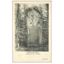 carte postale ancienne 55 BENOITE-VAUX. Chemin de Croix