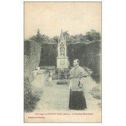 carte postale ancienne 55 BENOITE-VAUX. Fontaine Miraculeuse