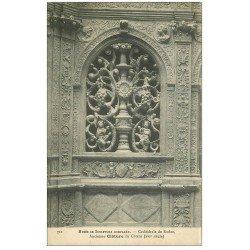carte postale ancienne 12 RODEZ. La Cathédrale Notre-Dame. Ancienne Clôture