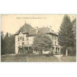 carte postale ancienne 55 CHATEAU DU FAUX-MIROIR par Revigny