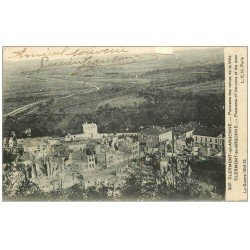 carte postale ancienne 55 CLERMONT-EN-ARGONNE. 1916 Panorama