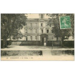 carte postale ancienne 55 COMMERCY. Le Collège 1923