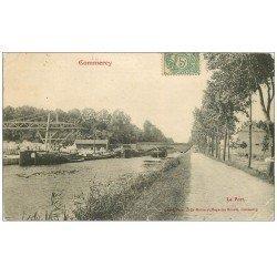 carte postale ancienne 55 COMMERCY. Le Port 1907