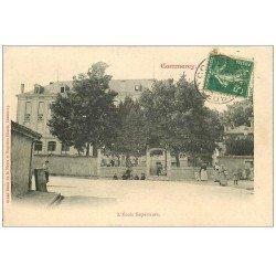 carte postale ancienne 55 COMMERCY. L'Ecole Supérieure 1907