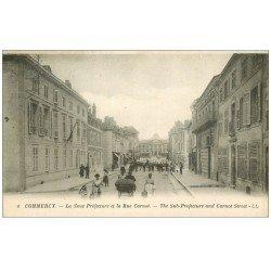 carte postale ancienne 55 COMMERCY. Sous-Préfecture Rue Carnot