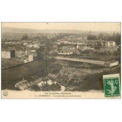 carte postale ancienne 55 COMMERCY. Vue prise de la Sablière 1914