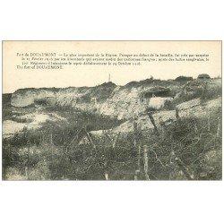carte postale ancienne 55 DOUAUMONT. Le Fort et barbelés